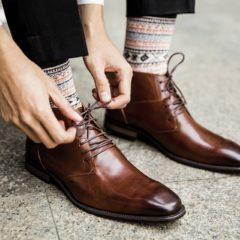 Schoenen maken de man